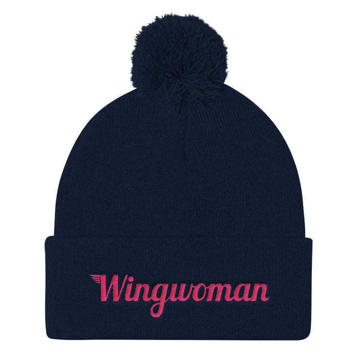 The Wingwoman Stocking Cap with Pom Pom - Avian Apparel