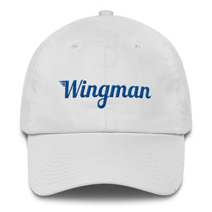Special Edition Patriot Wingman Baseball Cap - White/Blue/Red - Avian Apparel