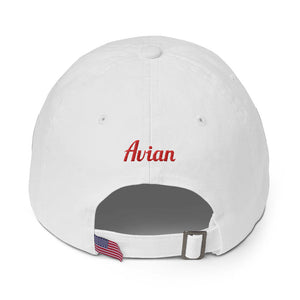 Special Edition Patriot Wingman Baseball Cap - White/Blue/Red