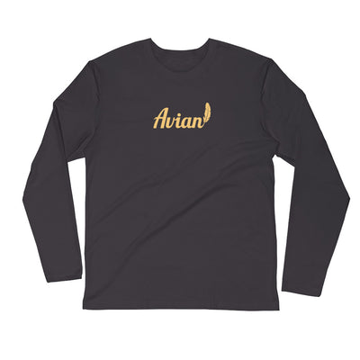 Premium Feathered Avian Shirt - Avian Apparel #color_asphalt