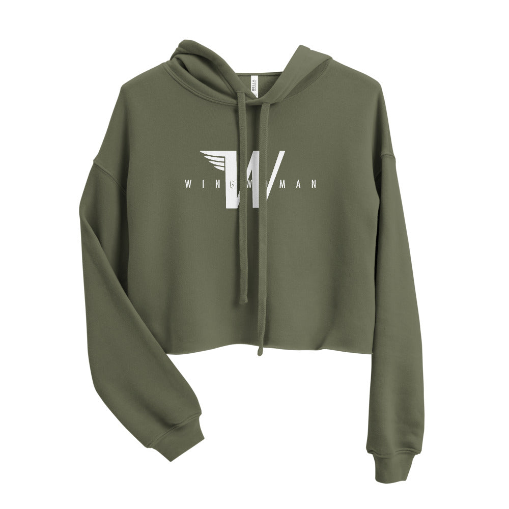 Flying W - Wingwoman Cropped Hoodie - Avian Apparel