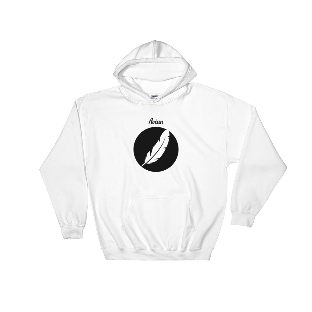 Inverted Feather Logo Hoodie - Avian Apparel