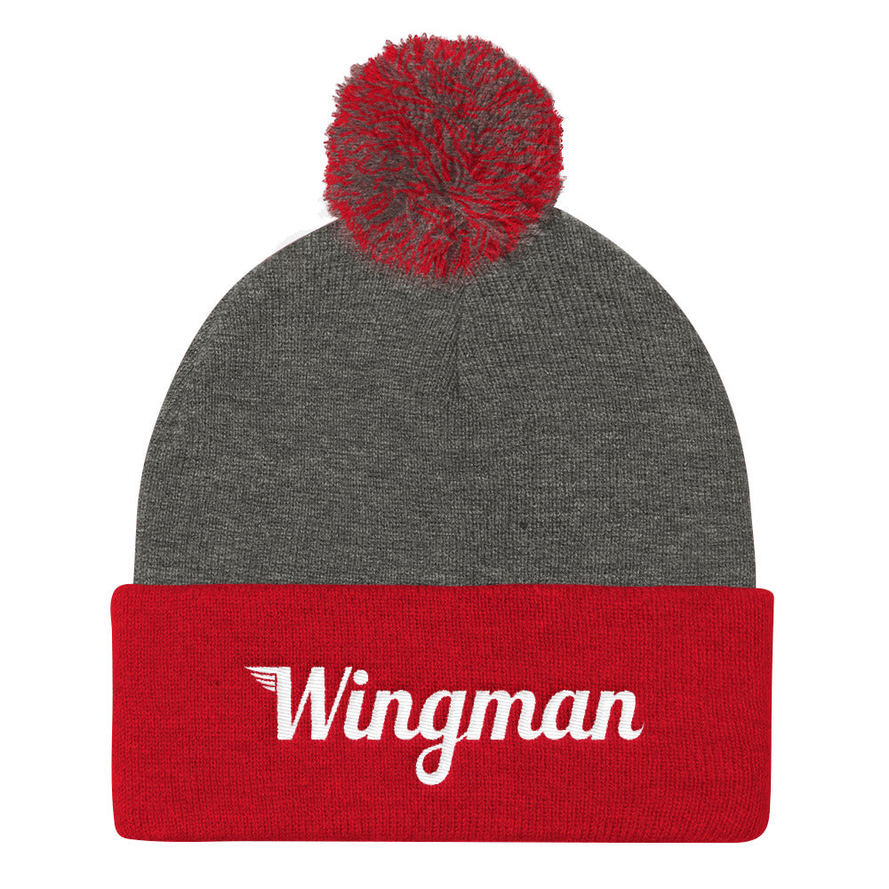 The Wingman Stocking Cap with Pom Pom