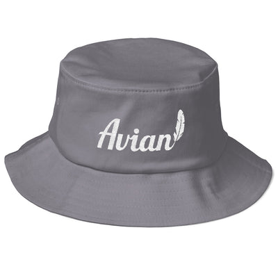 Feathered Avian Bucket Hat - Avian Apparel #color_grey