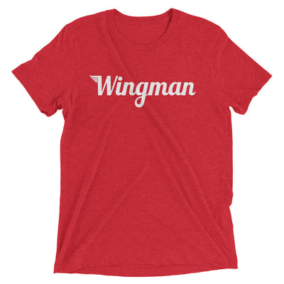 The Wingman Tee - Avian Apparel #color_red-triblend
