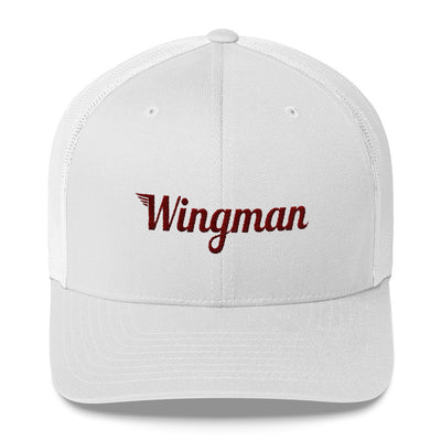 Wingman Trucker Cap - Avian Apparel #color_white