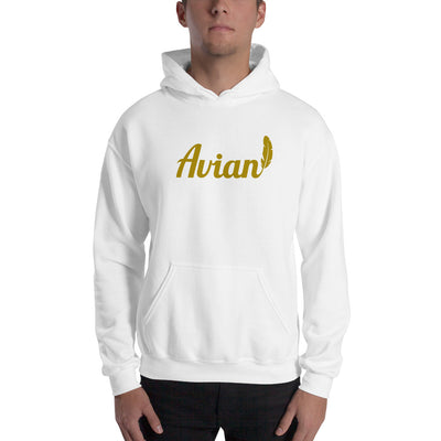 The Feathered Avian Hoodie - Founder's Edition - Avian Apparel #color_white