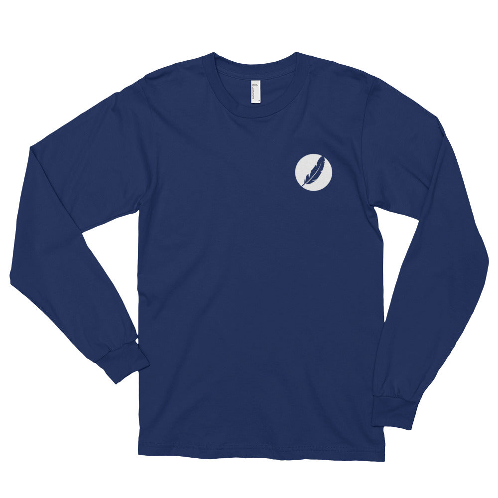 Left Inverted Feather Logo Shirt (Unisex)