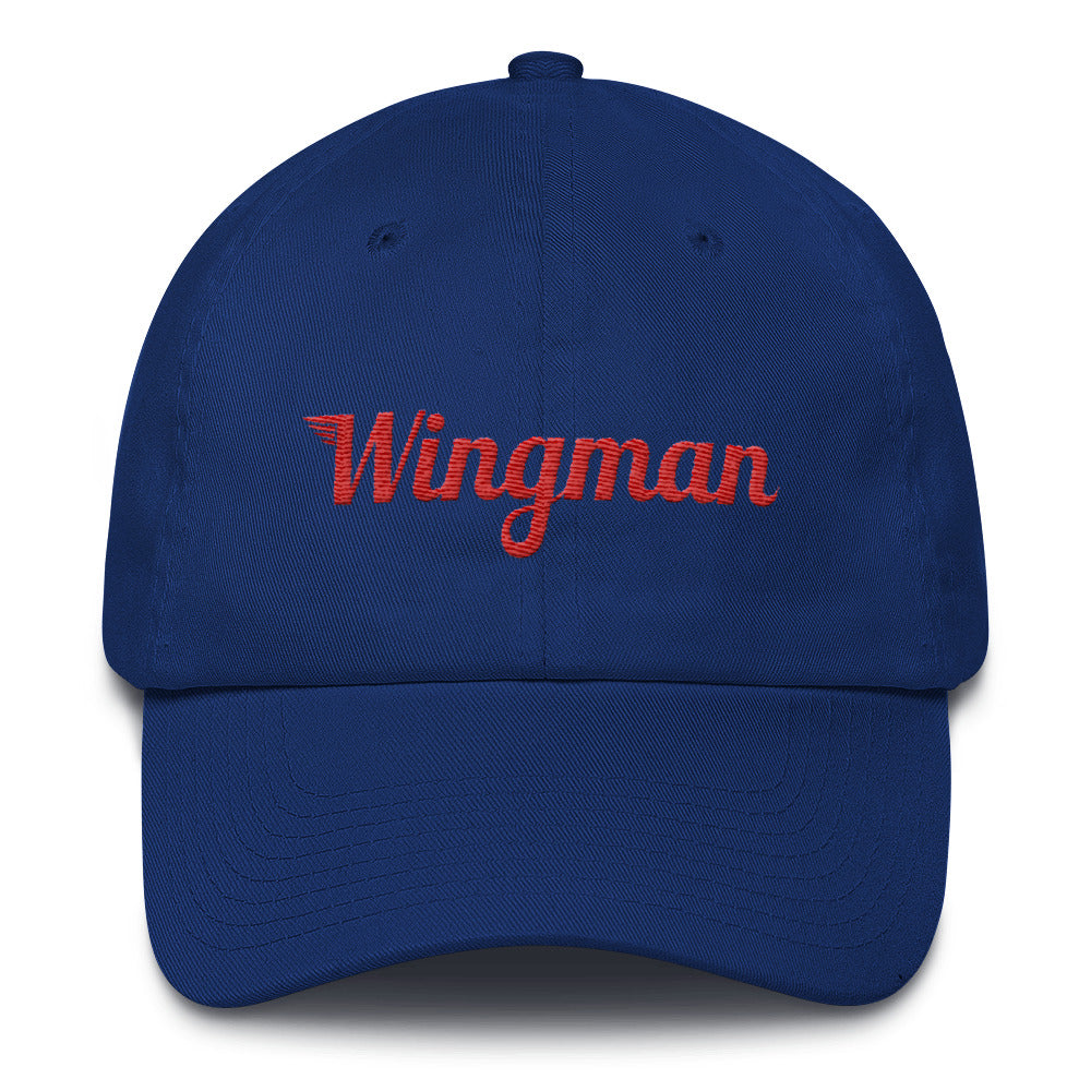 Special Edition Patriot Wingman Baseball Cap - Blue/Red/White - Avian Apparel
