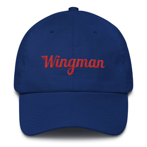 Special Edition Patriot Wingman Baseball Cap - Blue/Red/White