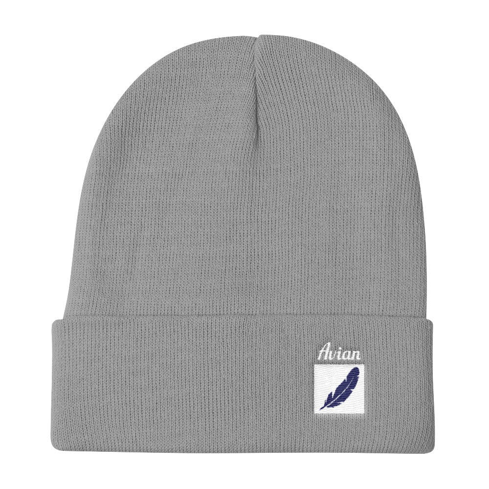 Feather Box Logo Stocking Cap