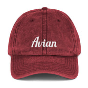 Classic Avian Vintage Baseball Cap - Avian Apparel #color_vintage-maroon