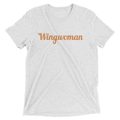 The Wingwoman Tee - Avian Apparel #color_white-fleck-triblend