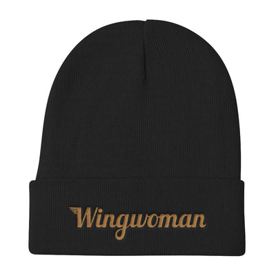The Wingwoman Stocking Cap - Avian Apparel #color_black