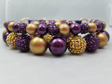 Fall Golden Amethyst Set