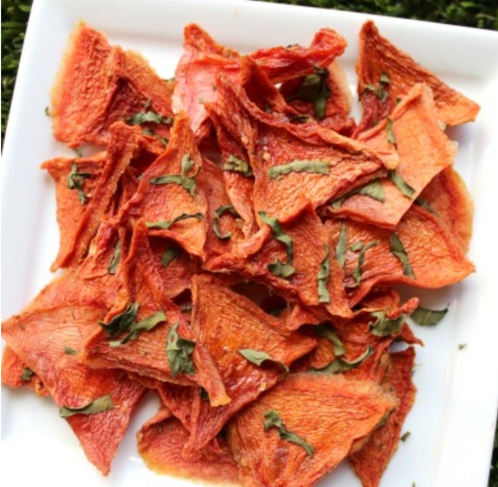 Watermelon Basil Chews