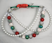 Christmas Triple Strand Collar