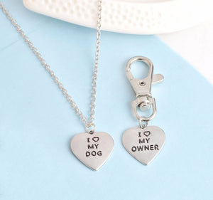 Matching Collar Charm And Necklace
