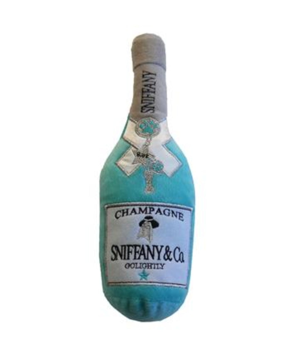 Sniffany Champagne Bottle Toy
