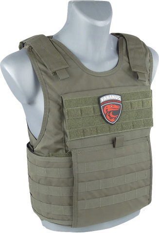 Buy online Premium Quality highly resistant Varanus TACTICAL GEN2  Vest with IIIA Ballistic Panel - Varanus