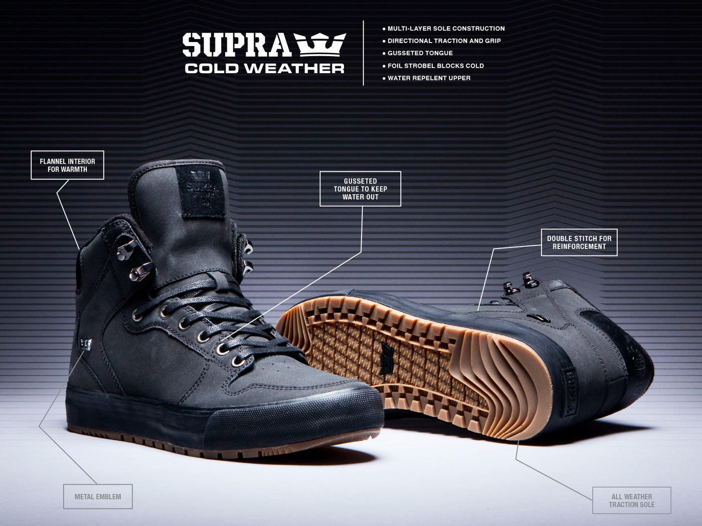 aade05870c60 COLD WEATHER - Supra Footwear