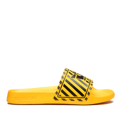 06127-004-M | LOCKUP | BLACK/CAUTION STRIPE