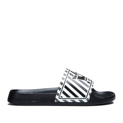 06127-027-M | LOCKUP | BLACK/WHITE STRIPE