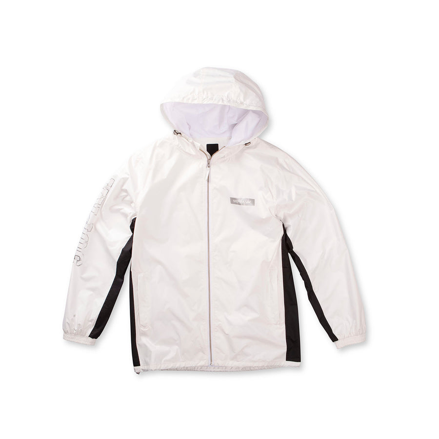 101843-102 | WIND JAMMER JACKET | BLACK / WHITE / BLACK - WBK