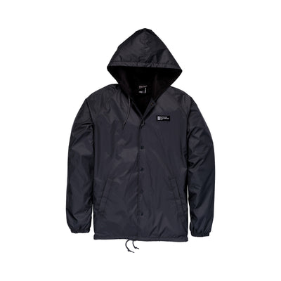 102559-007 | SUPRA FOOTWEAR CO COACHES JACKET | CHARCOAL