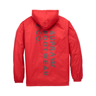 102559-600 | SUPRA FOOTWEAR CO COACHES JACKET | RED