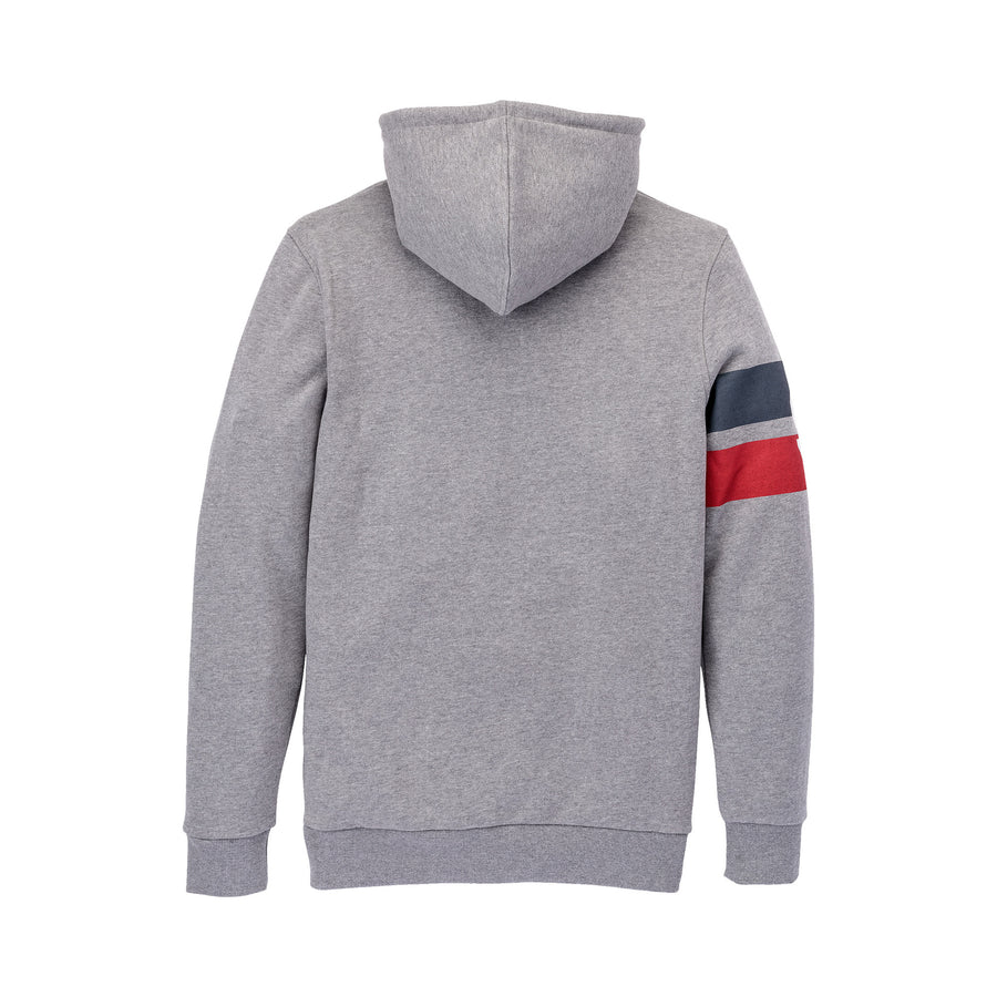 102607-034 | S BAND PULLOVER | HEATHER GREY