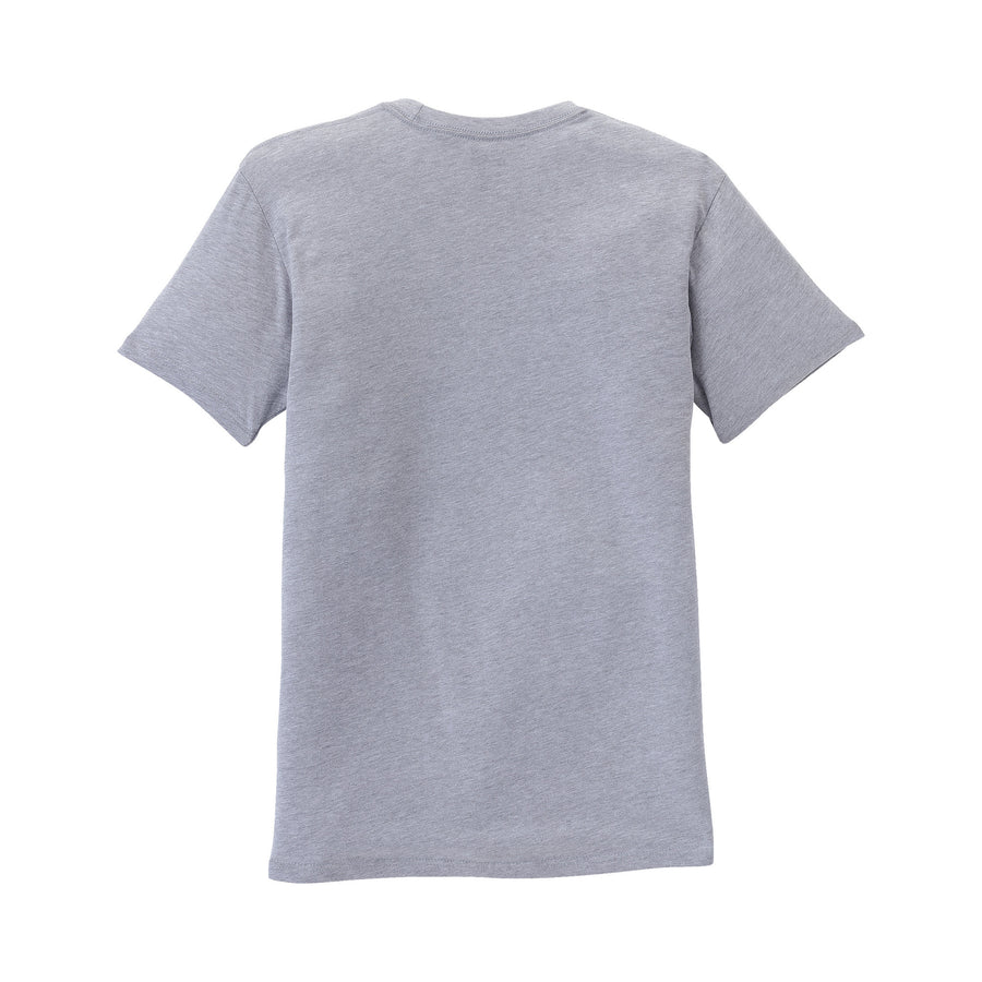 103437-043 | ABOVE T-SHIRT | GREY HEATHER/RED