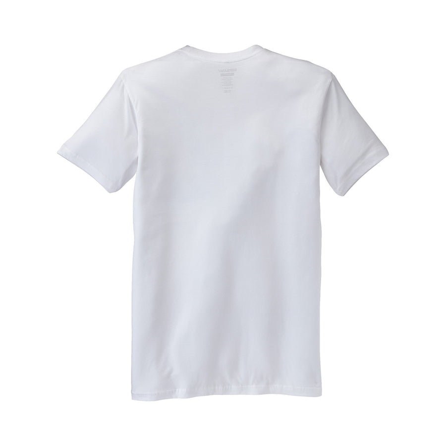 103437-102 | ABOVE T-SHIRT | WHITE/BLACK