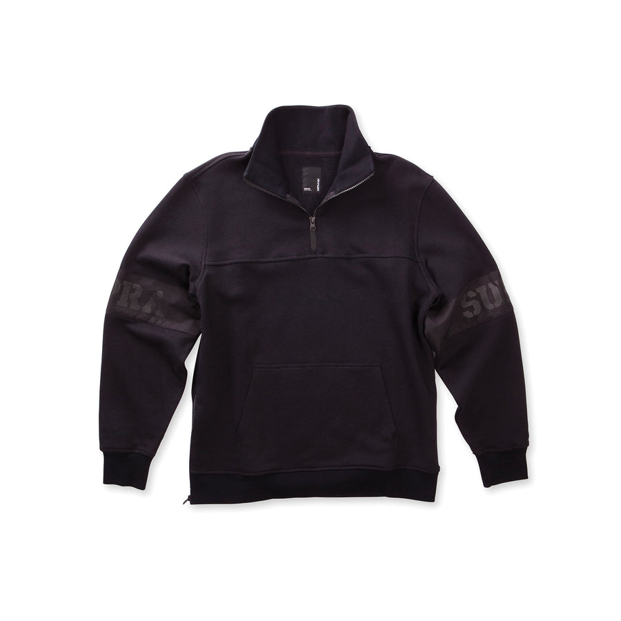 103731-008 | SPAR MOCK HALF ZIP | BLACK