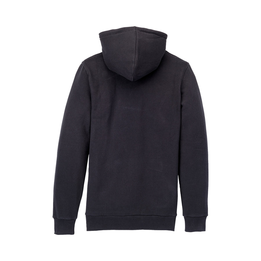 104201-037 | ABOVE HOODED PULLOVER | BLACK/HI VIS