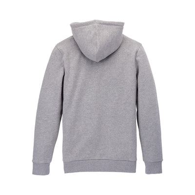 104201-041 | ABOVE HOODED PULLOVER | HEATHER GREY/GRID