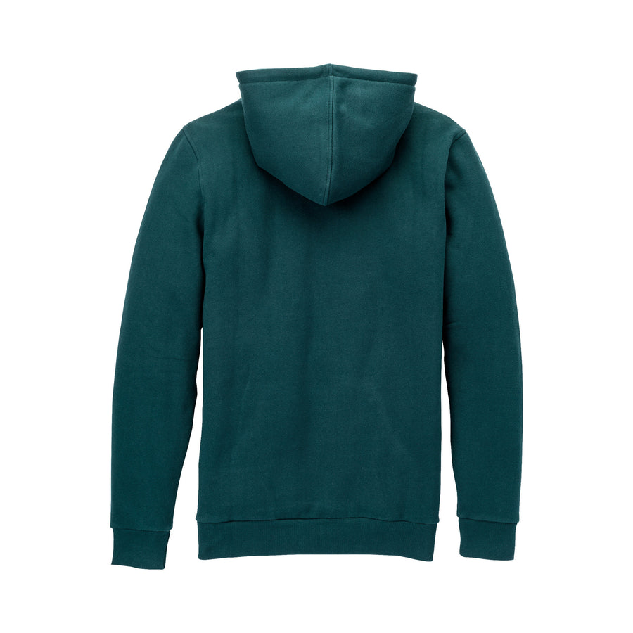 104201-337 | ABOVE HOODED PULLOVER | EVERGREEN/GOLD