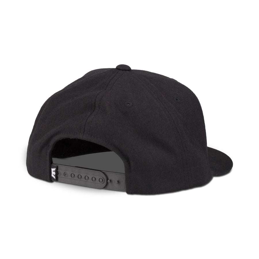 C3072-001 | ABOVE II SNAP BACK HAT | BLACK/BLACK
