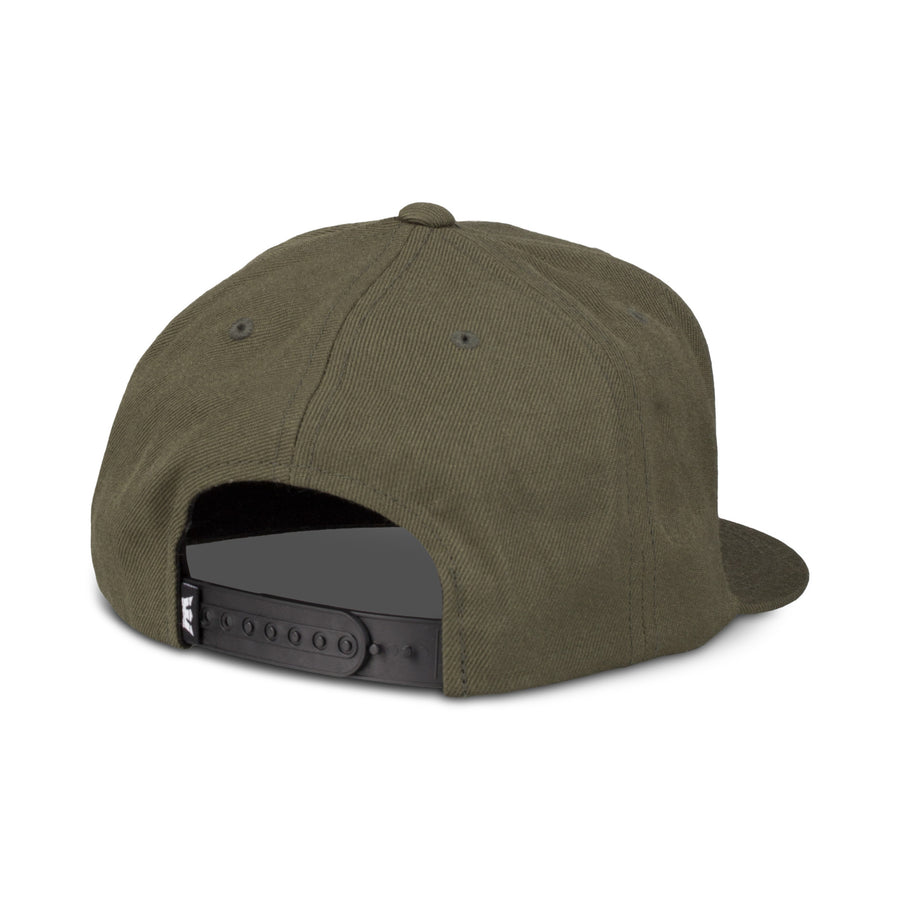 C3072-309 | ABOVE II SNAP BACK HAT | OLIVE