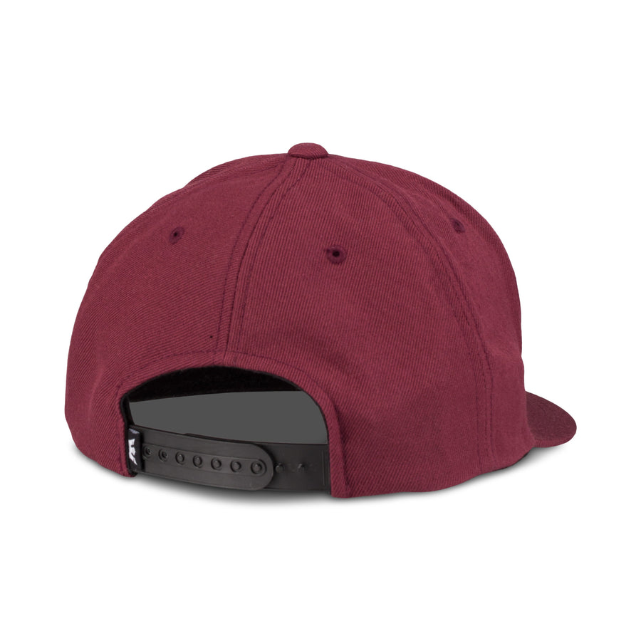 C3072-607 | ABOVE II SNAP BACK HAT | BURGUNDY