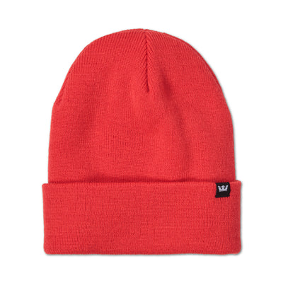 C3093-600 | CROWN BEANIE | RED