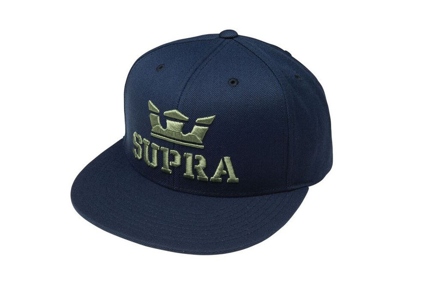 C3501-400 | ABOVE SNAP HAT | NAVY