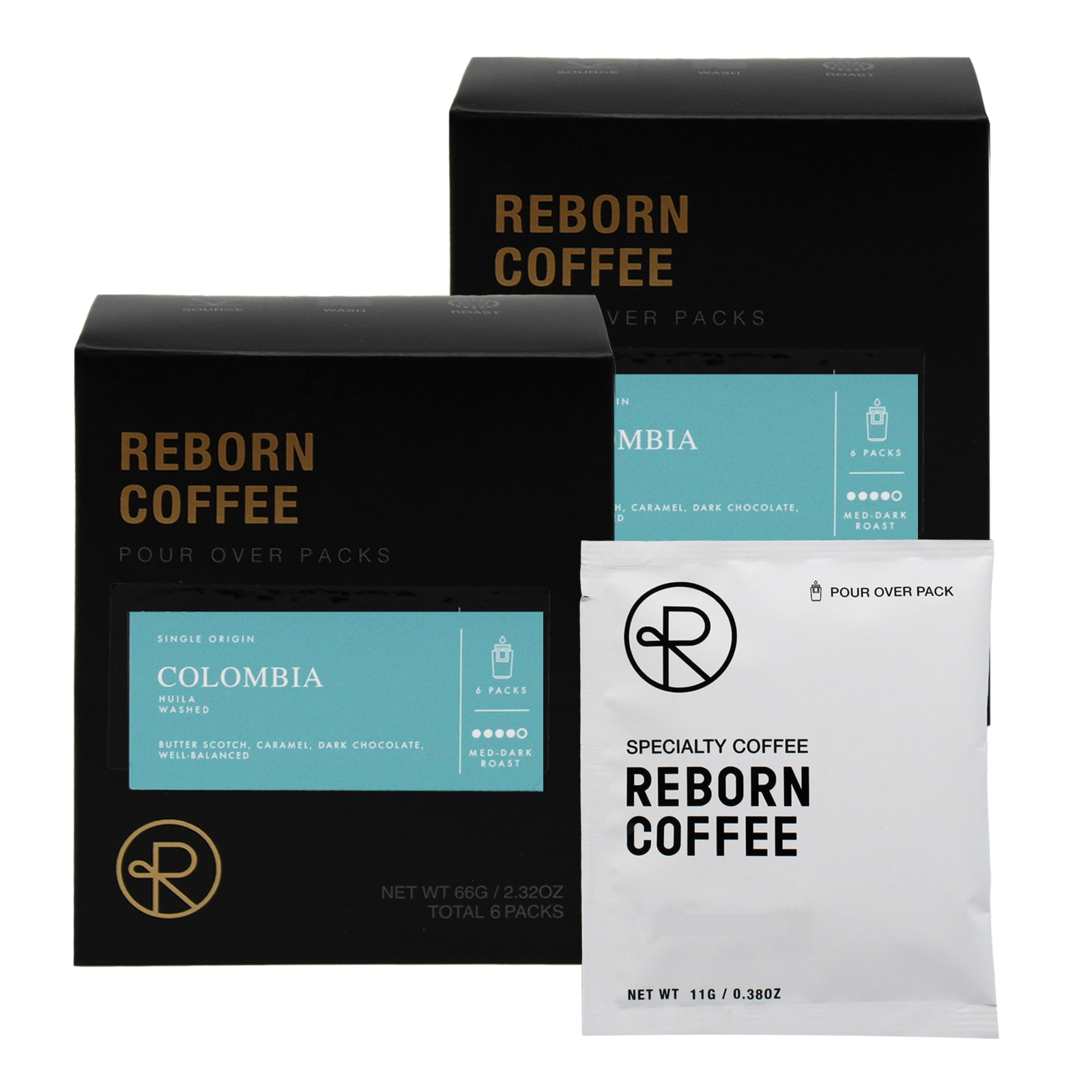 Reborn Coffee Drip Bag Coffee Gift Pack-Best Mother's(Father's) Day Gift-Colombia Supremo