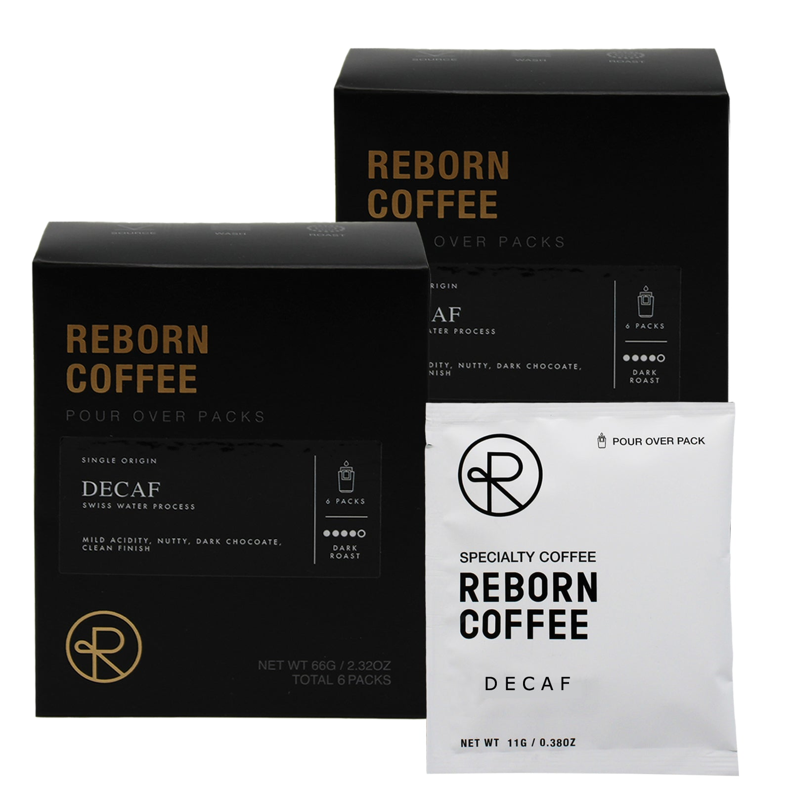 Reborn Coffee Drip Bag Coffee Gift Pack-Best Mother's(Father's) Day Gift-Brazil Decaf