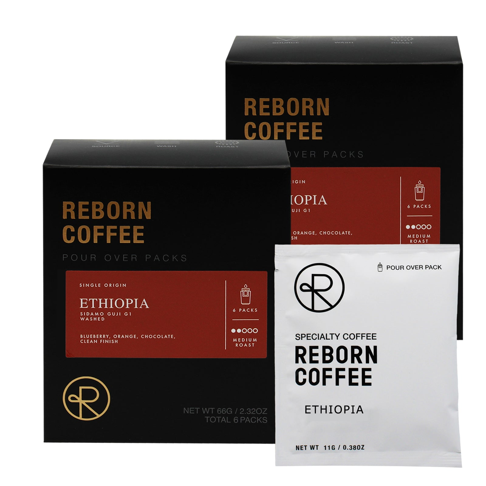 Reborn Coffee Drip Bag Coffee Gift Pack-Best Mother's(Father's) Day Gift-Ethiopia