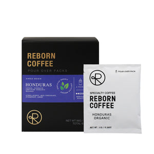 Open image in slideshow, Reborn Coffee Single Serve Pour Over Drip Bag Coffee-Organic Honduras