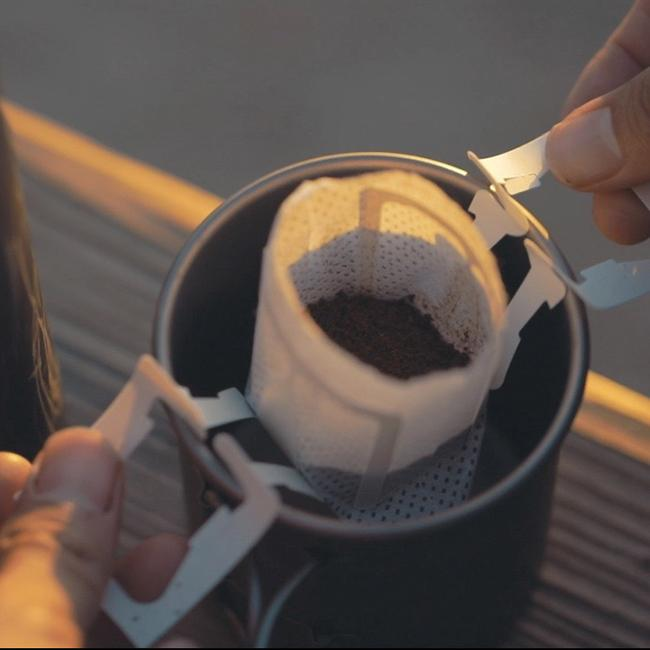 Premium Specialty Pour Over Drip Bag Coffee-Ethiopia. Fair Trade Certified Coffees. Good for Camping and Backpacking.