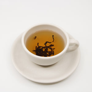 Type: Red teaProcess: 100% Hawaii Volcanic Tea / Organic tea farmNotes: Our tea plants are grown on the volcanic slopes located on the Big Island of Hawaii within the Hawaiian rain forest found 4000 feet above sea level. From these plants, we make Volcanic Tea.Hawaii's environment for our tea is clean and pure.