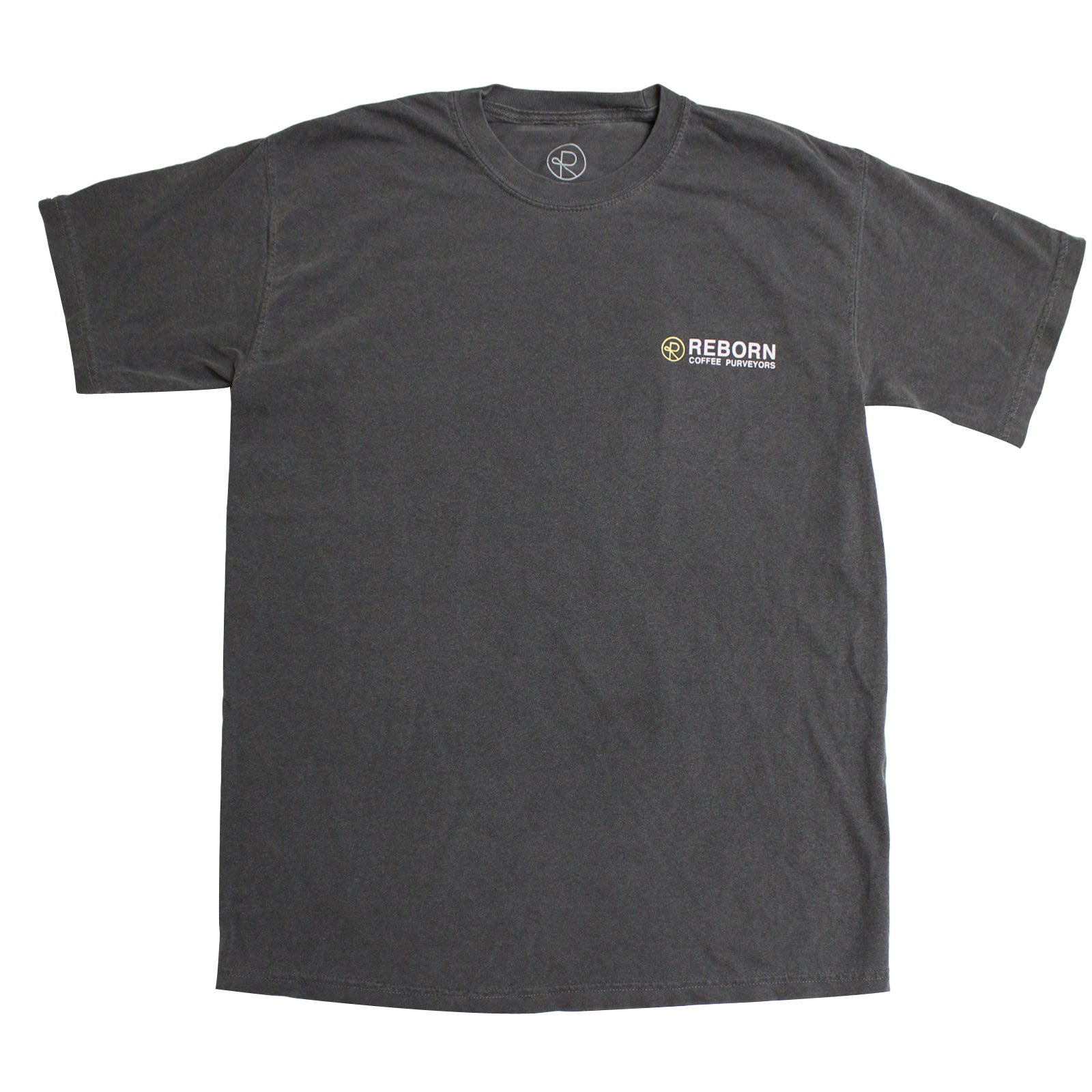 Reborn Coffee Purveyor 100% cotton custom T-Shirts