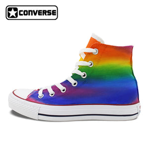 179fc6b25c6 Hand Tops Hand Painted Painted High Converse vRwOY